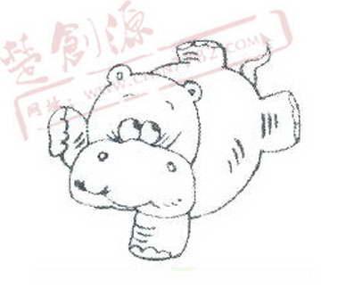 动漫 简笔画 卡通 漫画 手绘 头像 线稿 406_341
